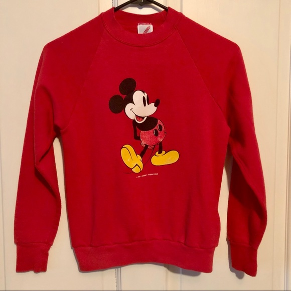 Vintage Mickey Mouse Disney Sweatshirt